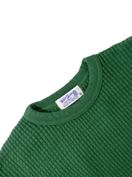 Velva Sheen Heavy Thermal Sweater - Evergreen