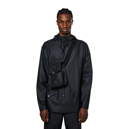 Rains Flight Side Bag - Black