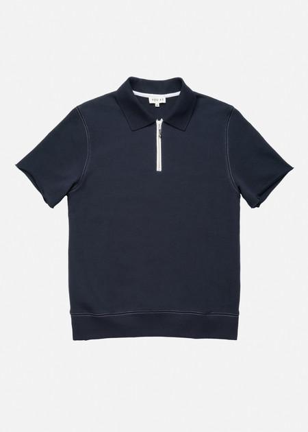 YOU AS Rocco Sweatshirt in Navy