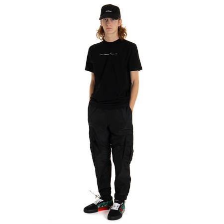 OFF-WHITE Parachute Cargo Pants - black