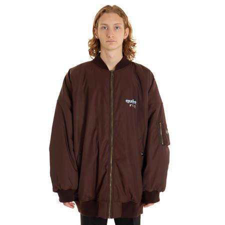 MARTINE ROSE Oversize bomber jacket Men - Red