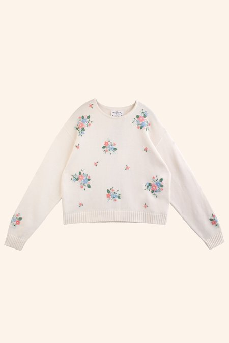 Meadows Floral Knit Sweater - Multi