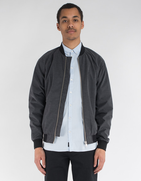 Minimum Starego Outerwear Dark Grey Melange