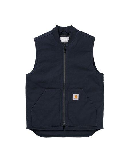 CARHARTT WIP Vest - Dark Navy/Rigid