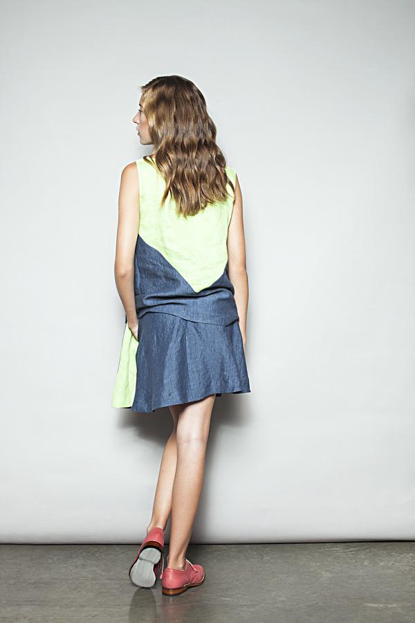 Eliza Faulkner Manoush Mini Skirt