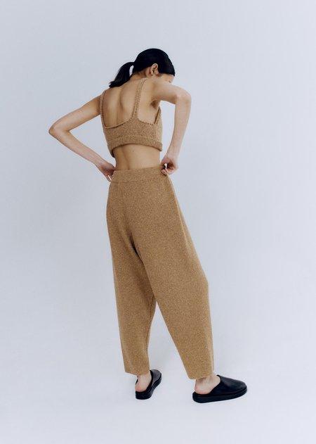 Mónica Cordera Soft Wool Pants - Camel