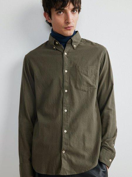 NN07 Levon Cotton Shirt - Army