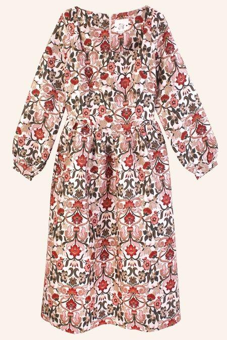 Meadows Marigold Dress - Tudor Jacquard