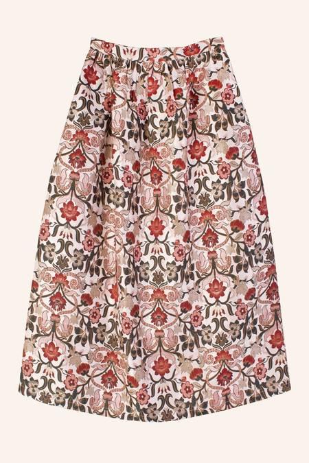 Meadows Orchid Skirt - Tudor Jacquard