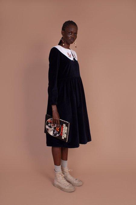 Meadows Pasque Dress - Velvet Navy