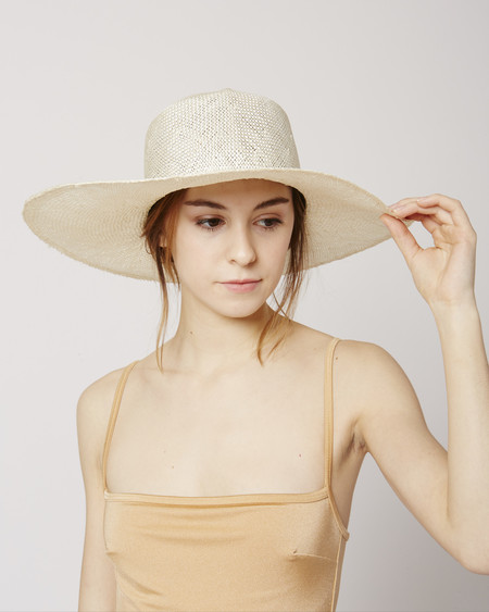 Brookes Boswell Optimo packable straw hat