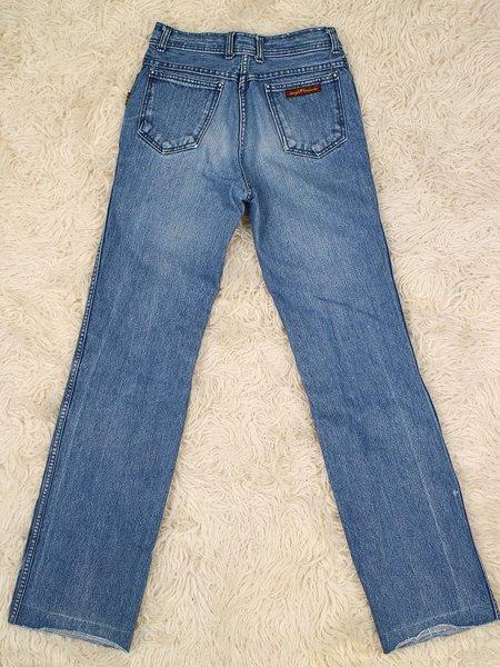 """Vintage 28"""" sergio valente jeans - dark wash"""