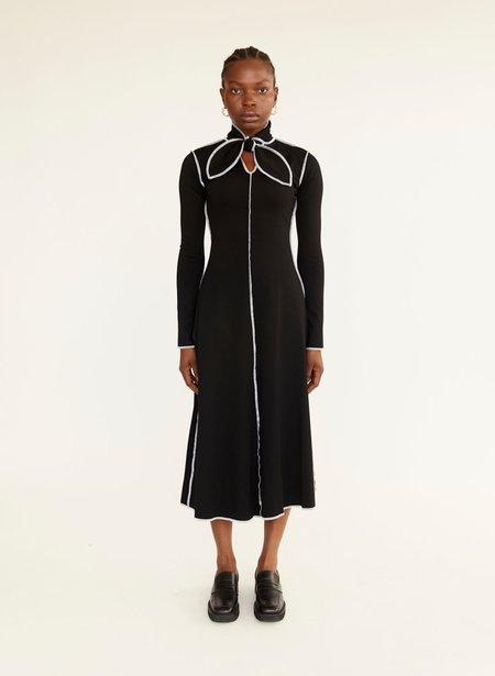 Eliza Faulkner Pippa Dress - Black/White