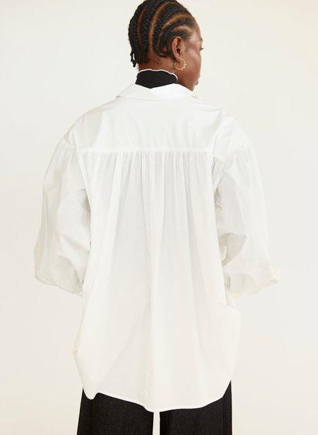 Eliza Faulkner Cotton Venti Shirt - White