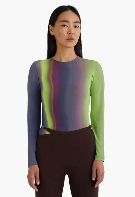 Paloma Wool Iceland Top - Blue Northern Lights
