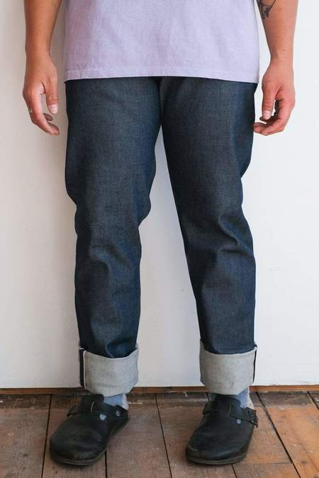 Naked & Famous Weird Guy jeans - Natural Indigo Selvedge
