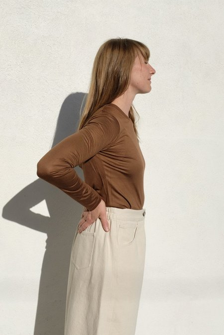 Baserange Long Sleeve Tee - Bamboo Jersey/Ocular