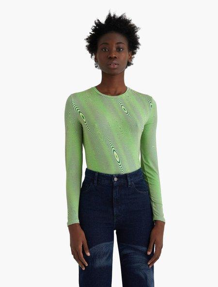 Paloma Wool Ondas Top - Intense Green