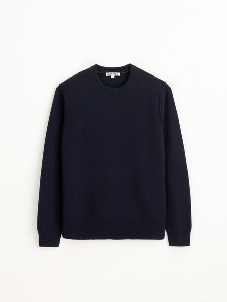 Alex Mill Reverse Seam Sweater - Navy