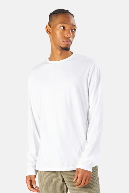04651/ Organic Long Sleeve T-Shirt - White