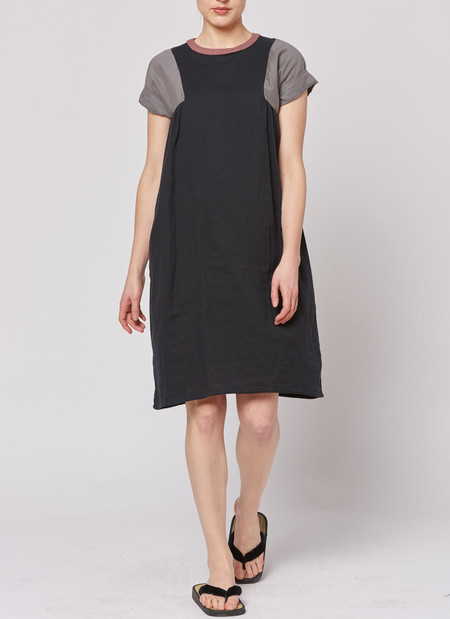 Built by Wendy Tri Dress - Black/Grey