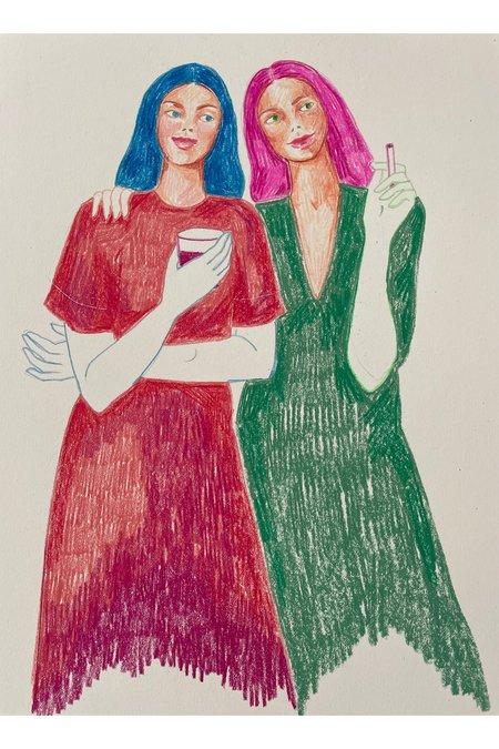 Rosie Kanellis Friend Series #11 ART
