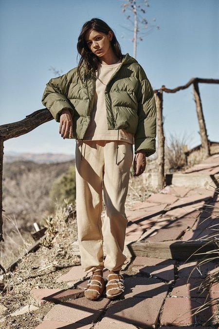 Velvet Raylin Cropped Puffer Jacket - Sage