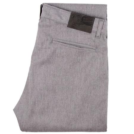 Naked & Famous Slim Chino - Grey