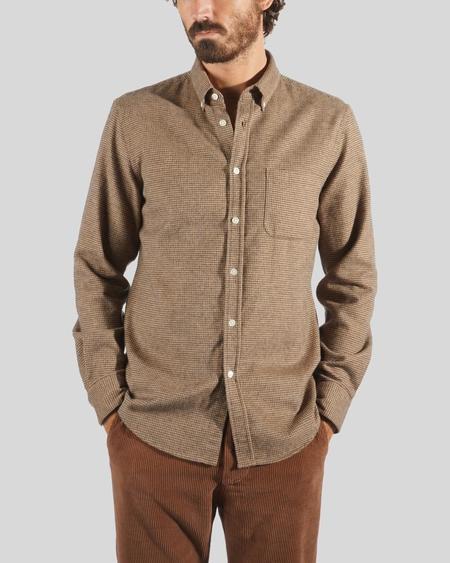Portuguese Flannel Pied Poule Shirt