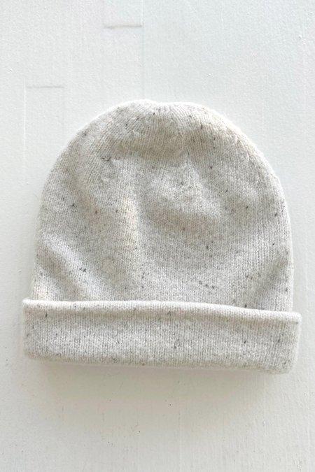 Micaela Greg Speckle Boucle Hat - Cream
