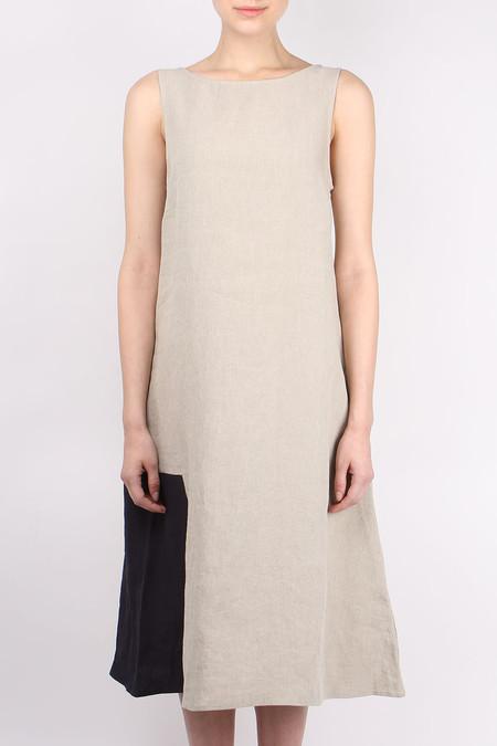 Apuntob Color Block Dress
