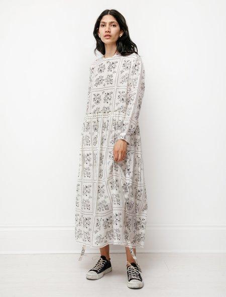 Sara Lanzi Womens Long Apron Dress - Wild Berry