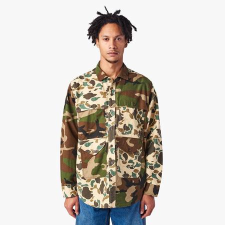BEAMS PLUS Adventure Shirt - BROWN