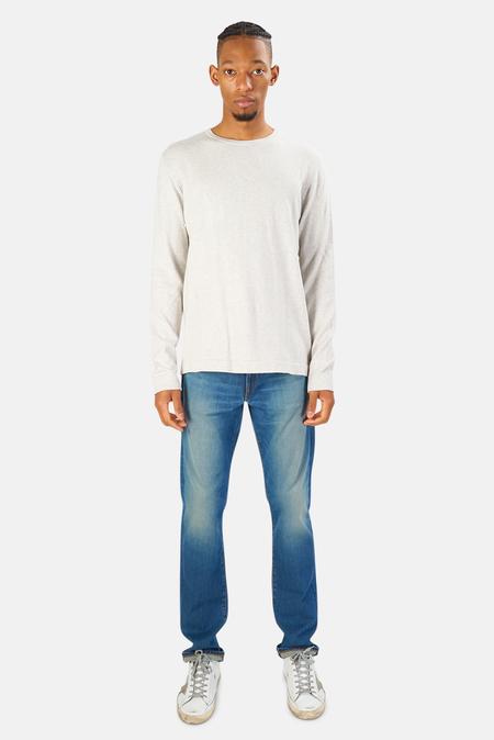 Blue&Cream Reade Long Sleeve T-Shirt - Lather