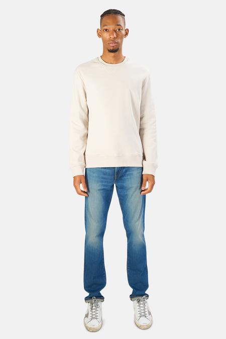 Blue&Cream Mont Blanc Crewneck Sweater - Abalone
