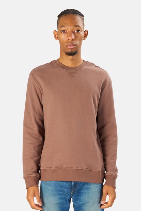 Blue&Cream Mont Blanc Crewneck Sweater - Mocha