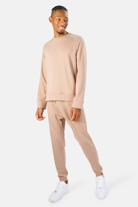 Blue&Cream LES Pants - Soft Taupe