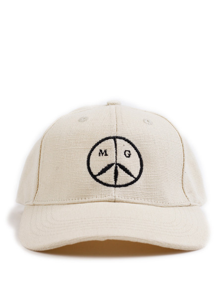 Mister Green Peace Cap Natural/Black