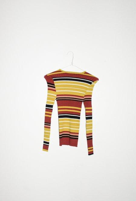 giu giu NONNA Jewel Turtleneck - Unité Stripe