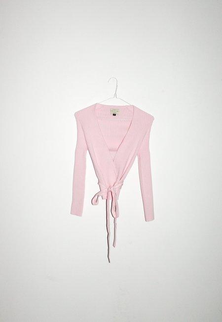 giu giu NONNA Wrap Bambina Cardigan - Pink