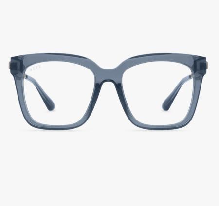 Unisex DIFF Bella Blue Light Sunglasses - NightSky