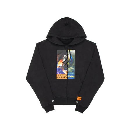 HERON PRESTON Split Herons hoodie Men Size L EU