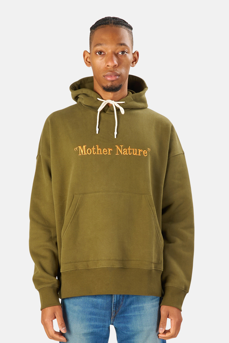President's Mother Nature Hoodie Sweater - Green