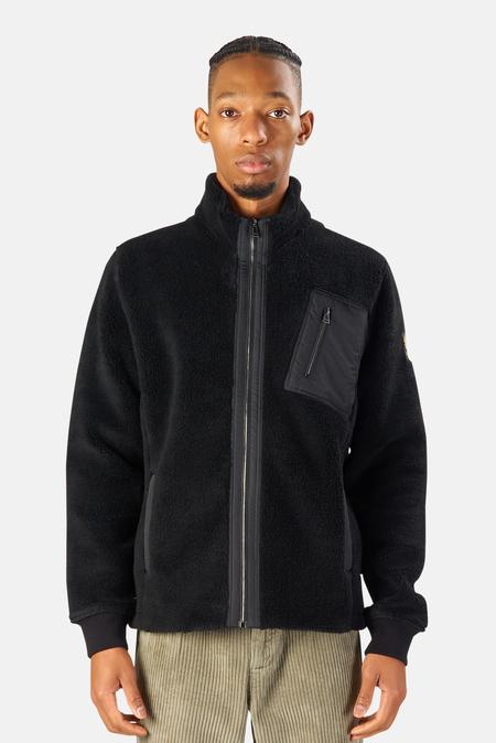 Belstaff Herne Full Zip Sweater - Black