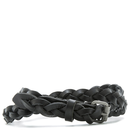 ALTERIOR WOVEN BELT / BLACK