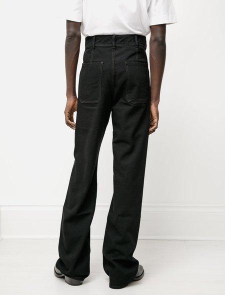Lemaire Denim Sailor Pants - Black
