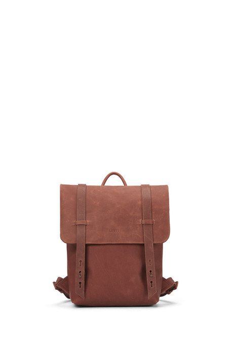Lowell Fairmount Cognac Nappa Leather