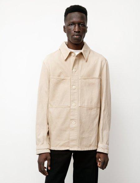 Lemaire Denim Overshirt - Saltpeter