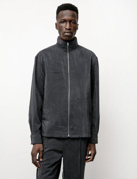 Lemaire Blouson Dry Silk Shirt - Coal