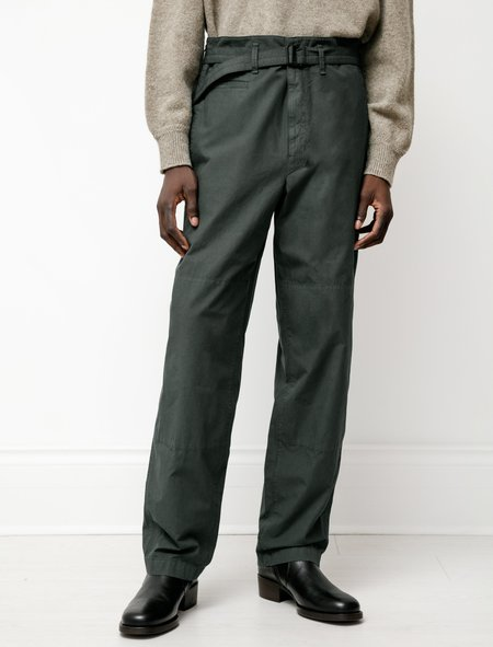 Lemaire Trench Pants - Forest